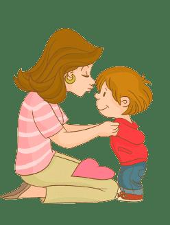 Раскраска Подарок маме