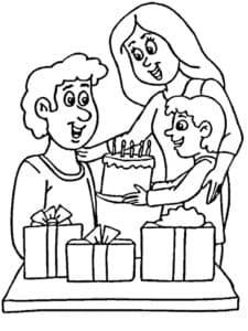 день рождение папы