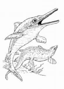 Рыба и ящерица