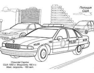 Машина полиции США