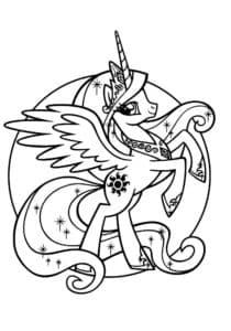 Принцесса Селестия в кружке