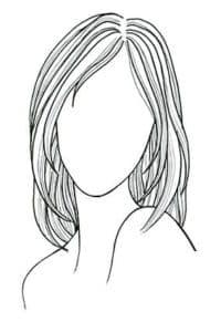 красивый женский портрет