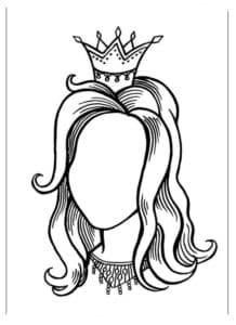 голова с короной