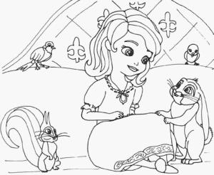 Принцесса София распечатать