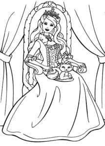 царица в троне