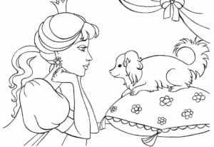 раскраски принцессы бесплатно