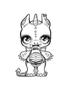 дракон единорог пупси