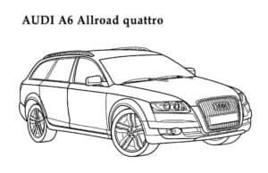 Ауди А6 аллроад кватро