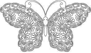 бабочка с крыльями антистресс