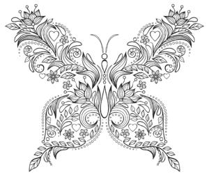 бабочка антистресс