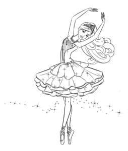 Балерина в пышной пачке