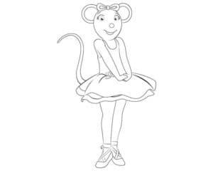 мышка балерина