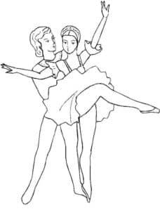 Танцовщик и балерина