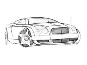 автомобиль Бентли