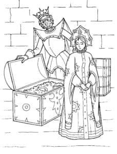 кощей бессмертный и царевна
