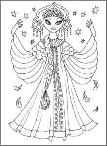 красивая царевна