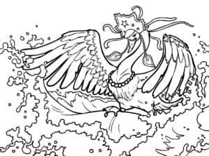лебедь в короне