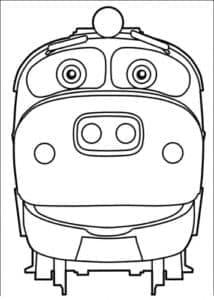 Хут (Hoot) — паровозик-стажер, брат-близнец Тут.