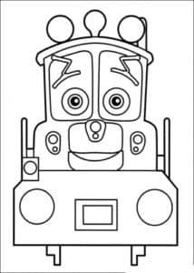 Уилсон (Wilson) — паровозик-стажер, будущий спасатель.