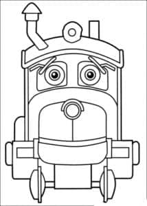 детская раскраска Чагинтон