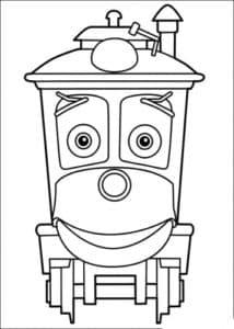 Раскраска для детей Чагинтон