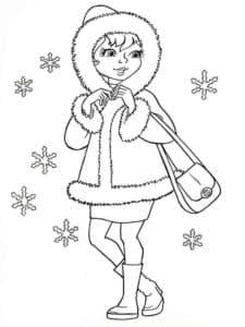 Девочка с сумкой