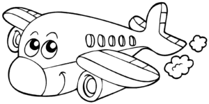 самолет с глазами