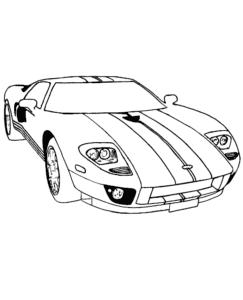 Додж гоночная машина