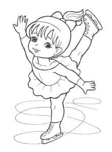 Маленькая фигуристка скачать