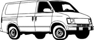 Фургон раскраска