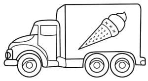 Фургон с мороженным