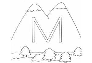 Горы с буквой М