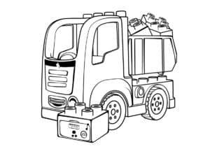 грузовик с лего