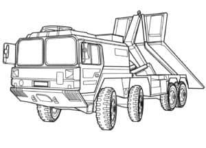 Военный эвакуатор