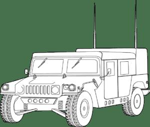 Хаммер военный