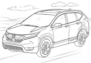 Хонда внедорожник