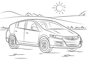 Автомобиль хонда