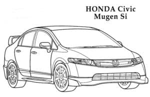 Хонда цивик муген