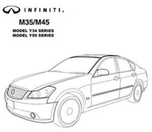 Инфинити M35/M45