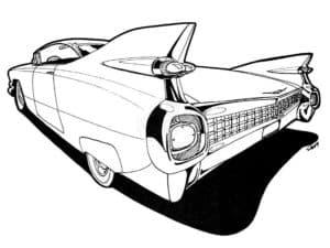 кадиллак автомобиль