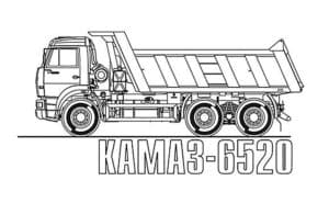 КАМАЗ - 6520