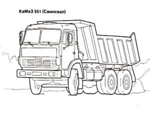 Камаз 551 (Самосвал)