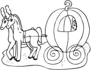карета из тыквы и лошади