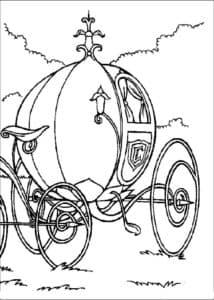 карета с большими колесами