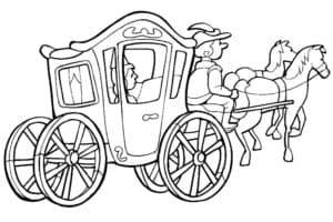 карета с узорами