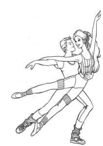 кен и барби танцуют