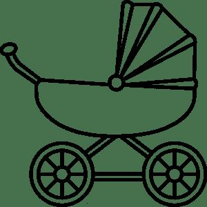 картинка коляска