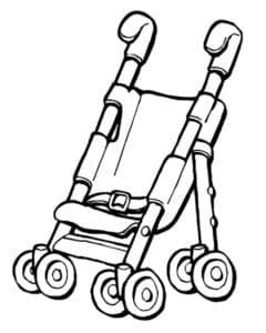 коляска в сидячем положении