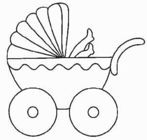 ноги ребенка торчат из коляски