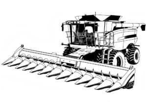 Комбайн для сбора зерна